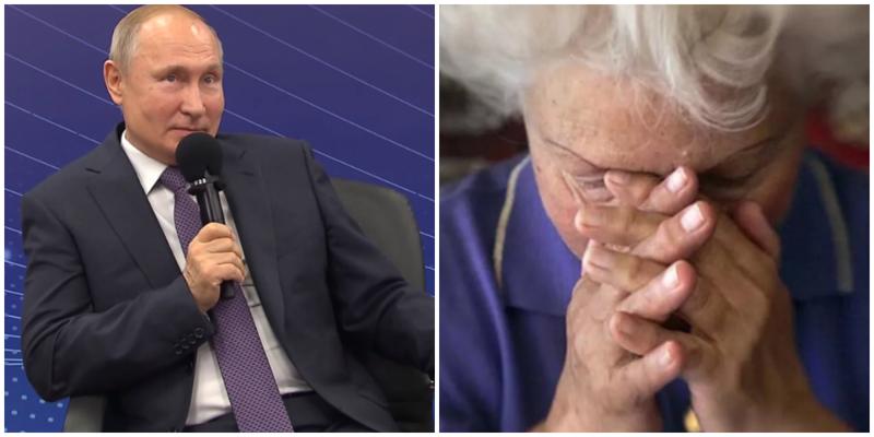 На встрече с общественниками Путин рассказал анекдот про бабку и юриста
