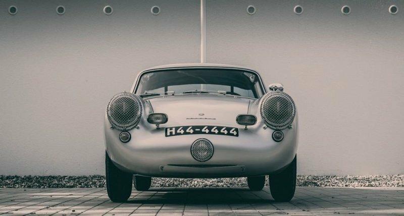 Автомобили, о которых Вы не слышали: Gloeckler-Porsche 356 Coupe 1954