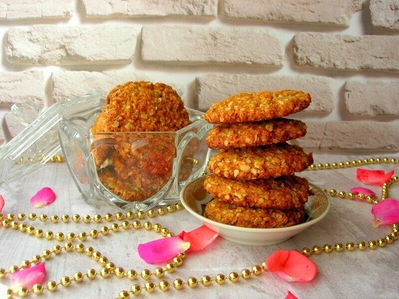 Австралийское овсяное печенье «АНЗАК»