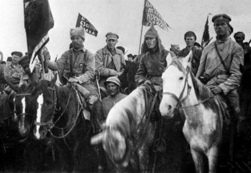 История красных всадников гражданской войны