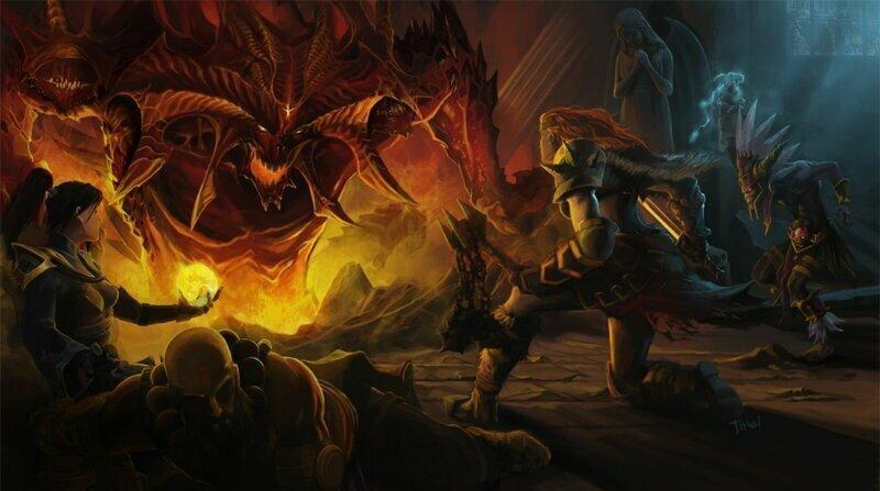 Diablo IV быть: Серия возвращается к мрачному стилю