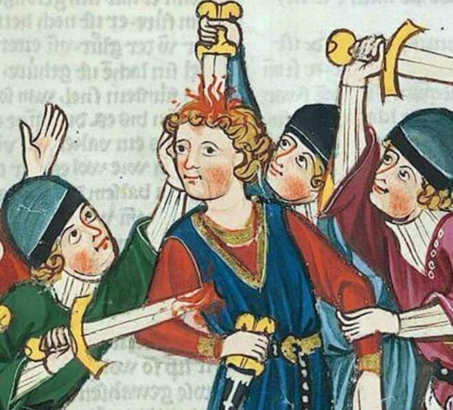 20 средневековых картин, на которых расправляются с людьми, но им абсолютно пофиг на это