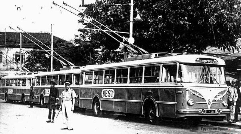 Троллейбусный цирк Индии