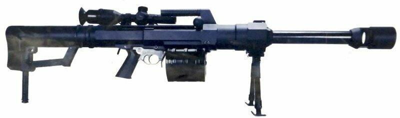«Снайперский» ручной / станковой гранатомет norinco lg5 lg5s / qlu-11 (КНР)