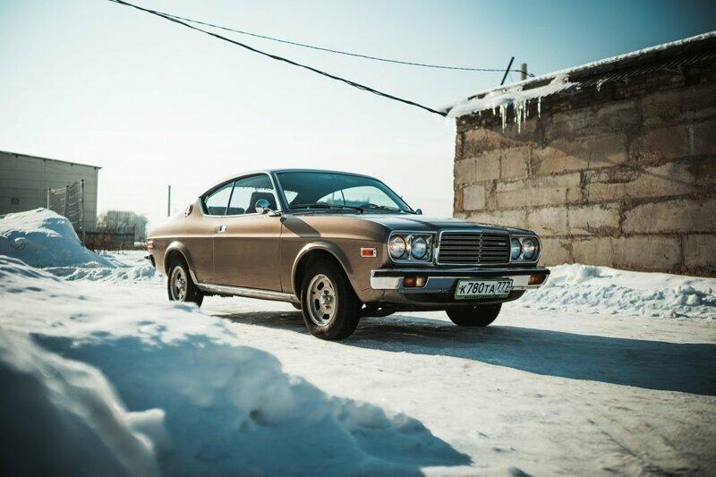 Редкая для России Mazda 929