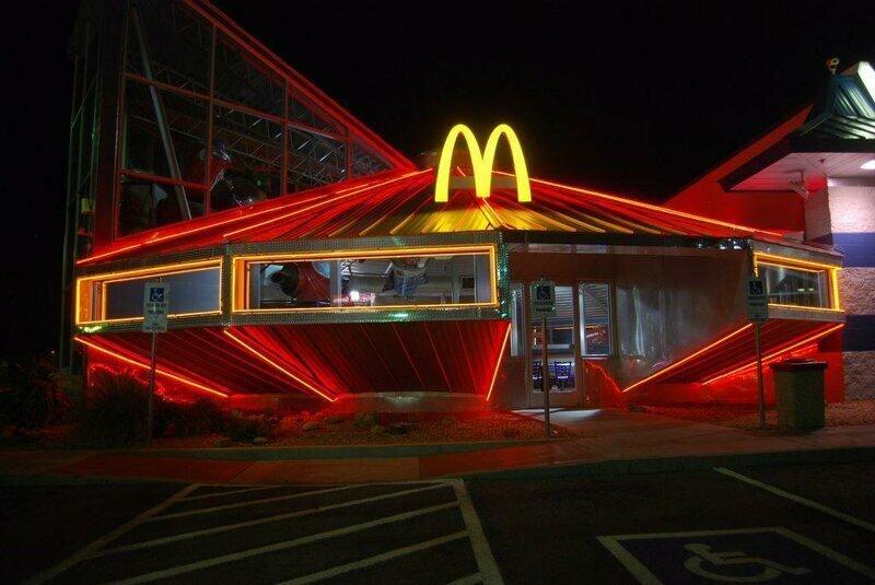 Макдональдс в Розуэлл  (Roswell McDonald's) США