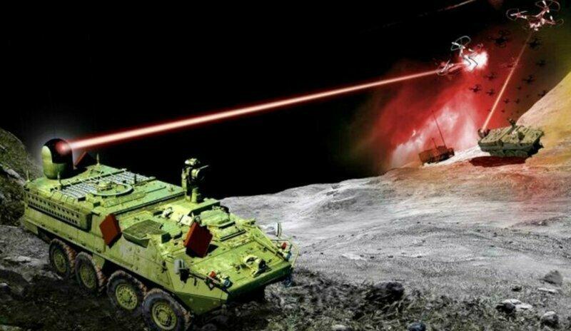 США начинают испытания лазерной пушки