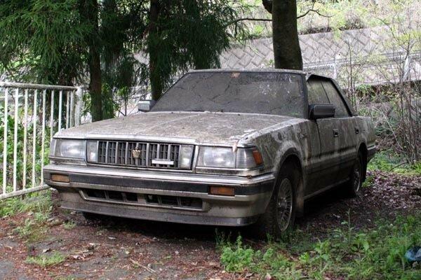 Брошенные JDM автомобили - часть 1