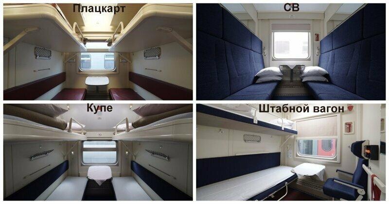 В Сети появились фотографии интерьера поездов в Крым