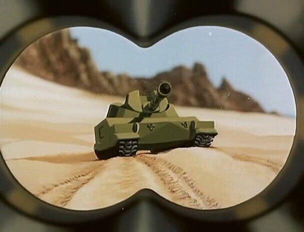Мультик про Танк - Полигон, 1977 - Помните?