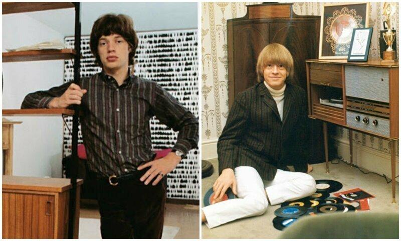 Редкие архивные фото The Rolling Stones