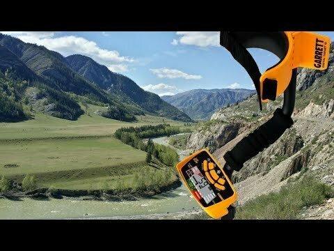 С поисковым магнитом на реке Чуя в Горном Алтае