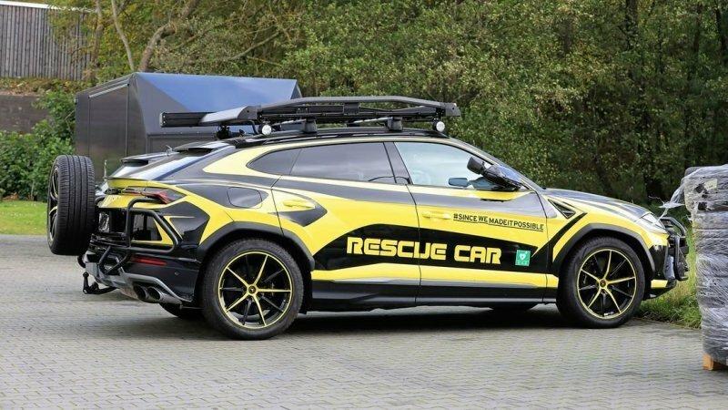 Lamborghini Urus превратили в машину для спасателей
