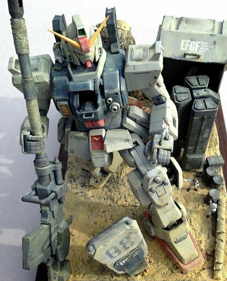 Сборные модели мехов Gundam #7