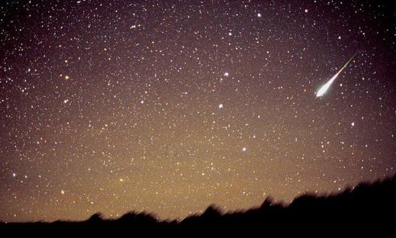 На Землю прольется звездный дождь