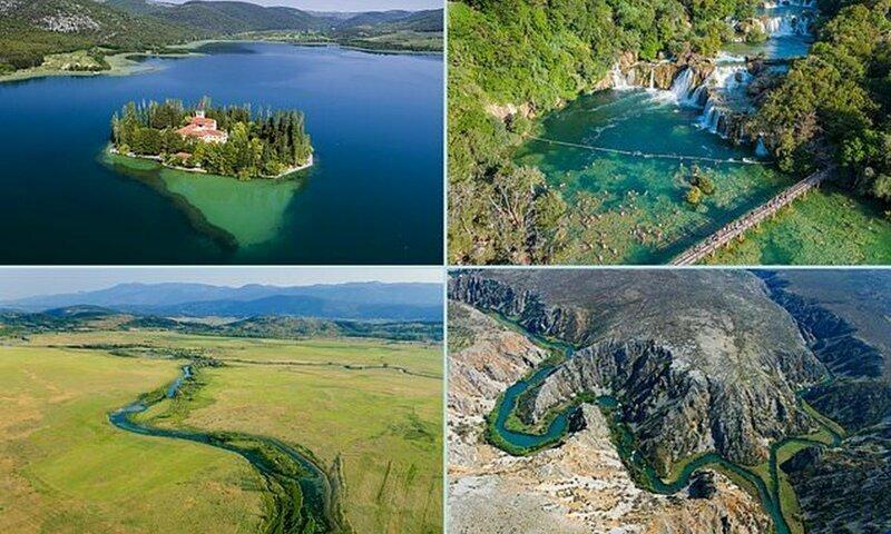 Удивительная красота рек и водопадов Хорватии