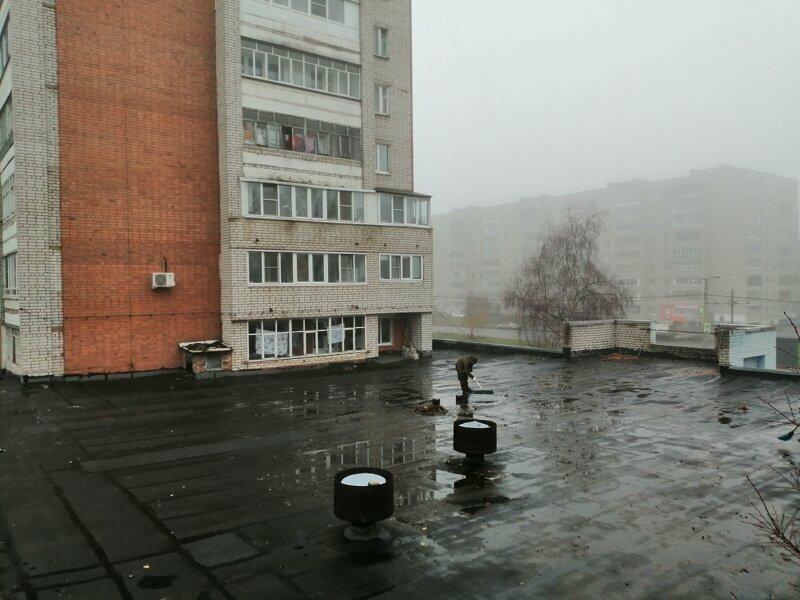 Антивандальная крыша. Актуально для пристроек к многоэтажным домам