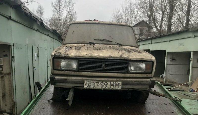 """Забытая на 28 лет: новая """"пятерка"""" ВАЗ-2105 1990 года"""