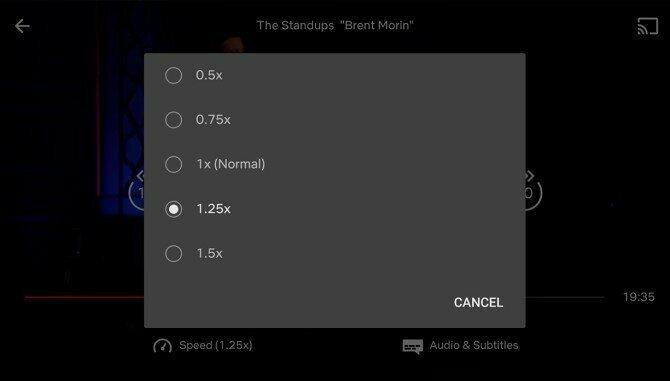 Инновации Netflix: сервис тестирует режим изменения скорости демонстрации фильмов
