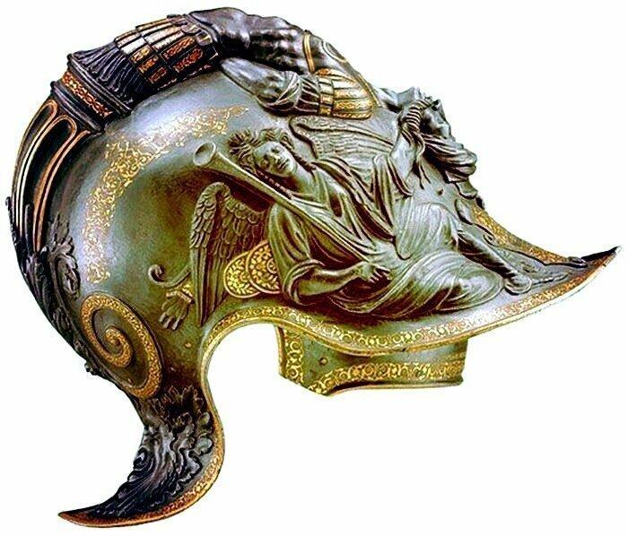 Шлемы работы миланских оружейников