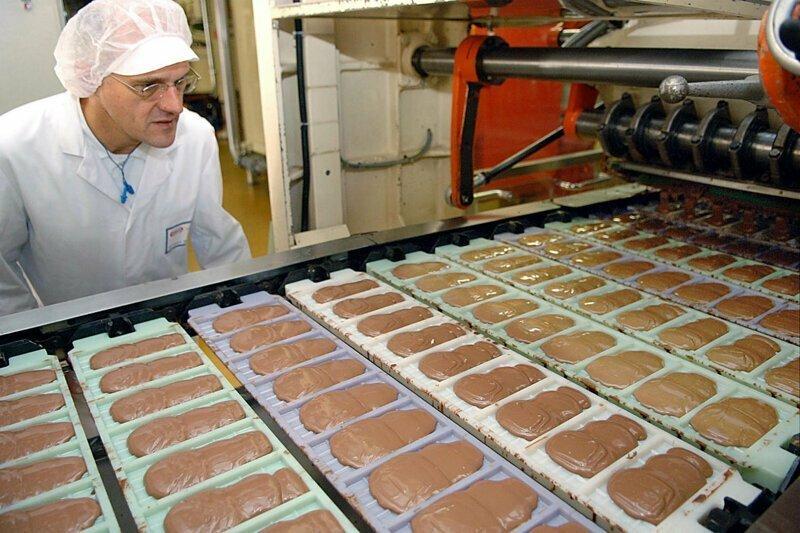 В Австрии угнали 20-тонный грузовик с шоколадом