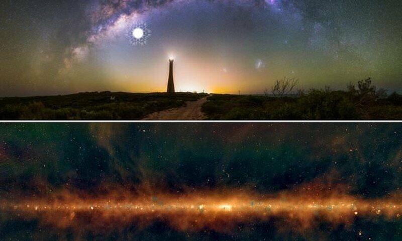 Снимок Млечного Пути в радиоволнах открыл многое о нашей галактике