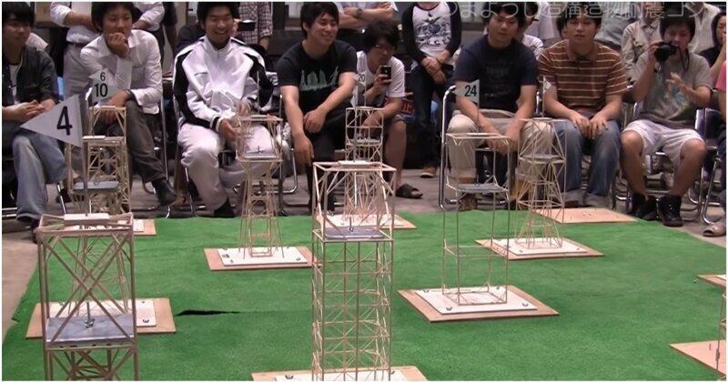 Интересный инженерный конкурс в японском университете