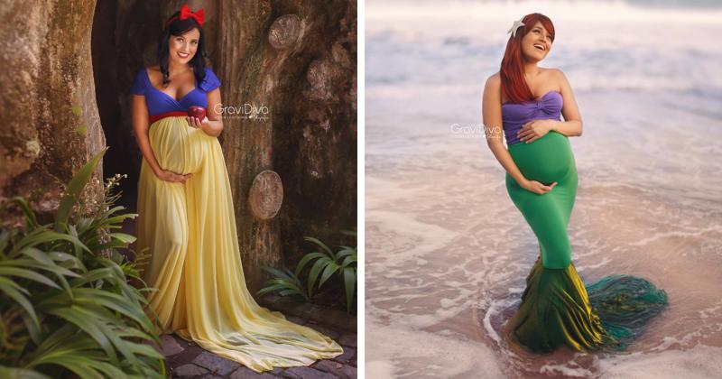 Диснеевские принцессы ждут потомства
