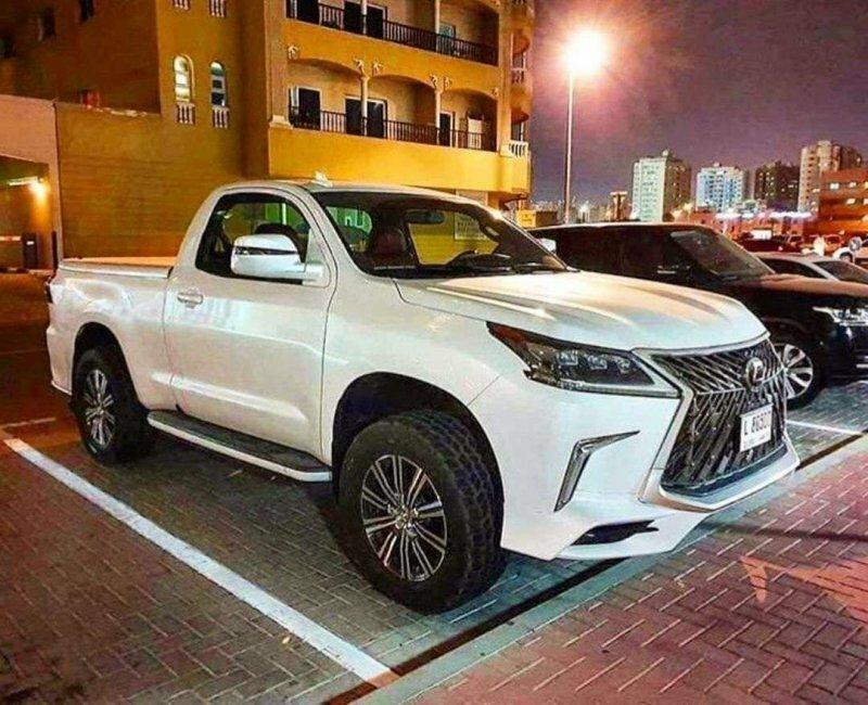 Пикапы Lexus — различные самодельные варианты со всего мира