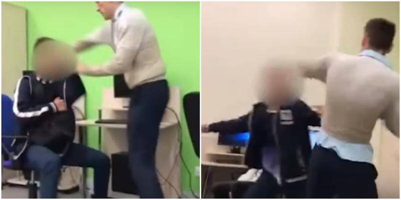 В Белгороде на уроке информатики учитель подрался с учеником