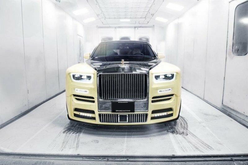 Новый Rolls-Royce рэпера Дрейка с золотой совой инкрустированной бриллиантами