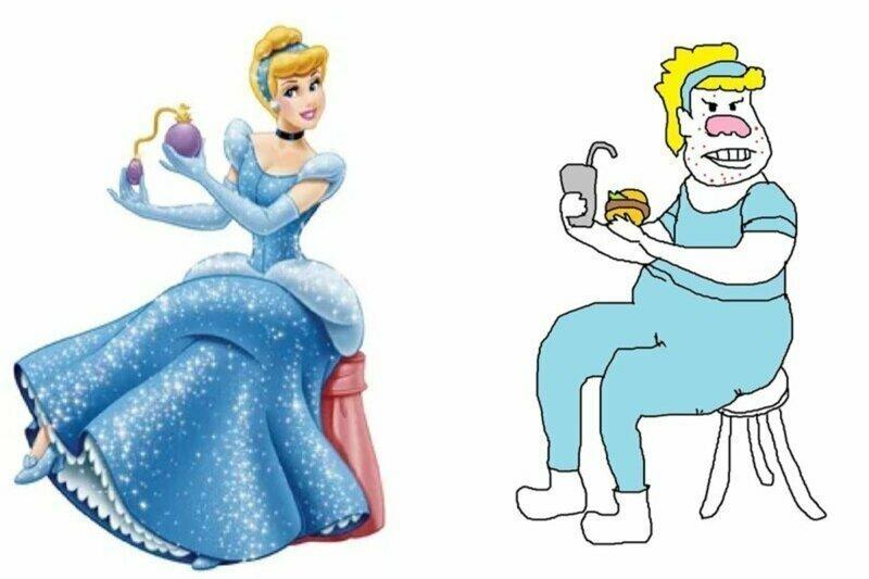 Как выглядели бы диснеевские принцессы, будь они феминистками
