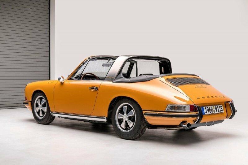 Porsche 911 Targa — Идея, рожденная из необходимости