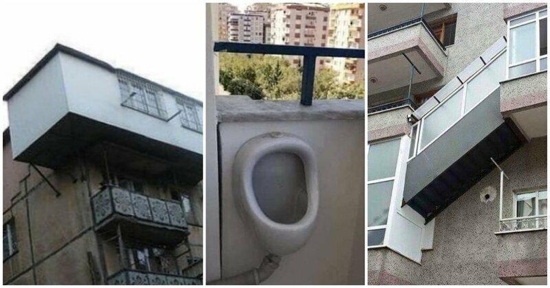 17 безбашенных балконов, которые не должны были существовать