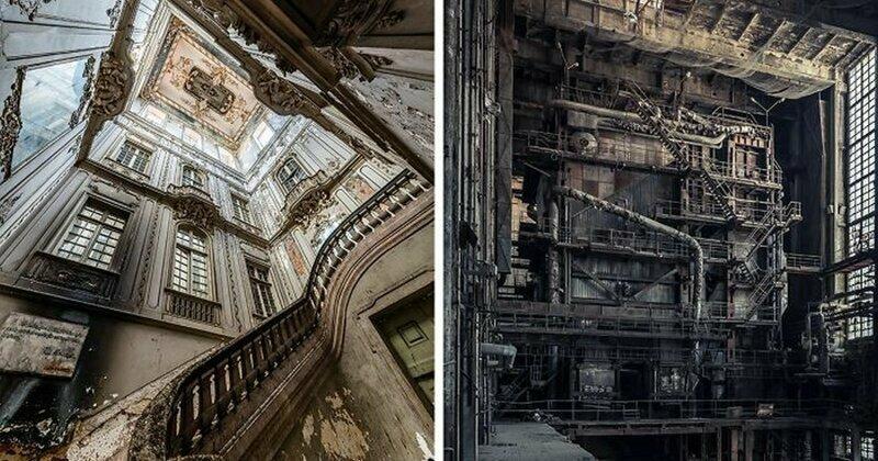 Потрясающие заброшенные места со всей Европы
