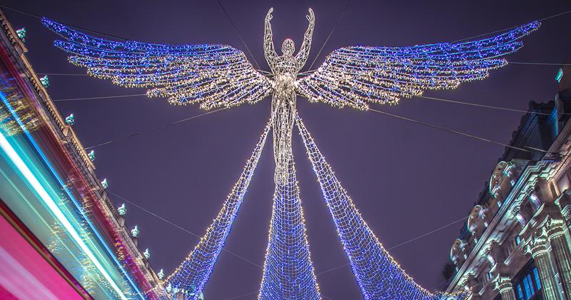 Насладитесь красотой рождественского Лондона!