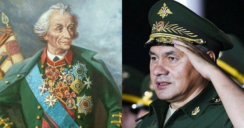 Анекдот от ВЦИОМ: Шойгу в списке героев Отечества всех эпох обогнал Суворова и Кутузова