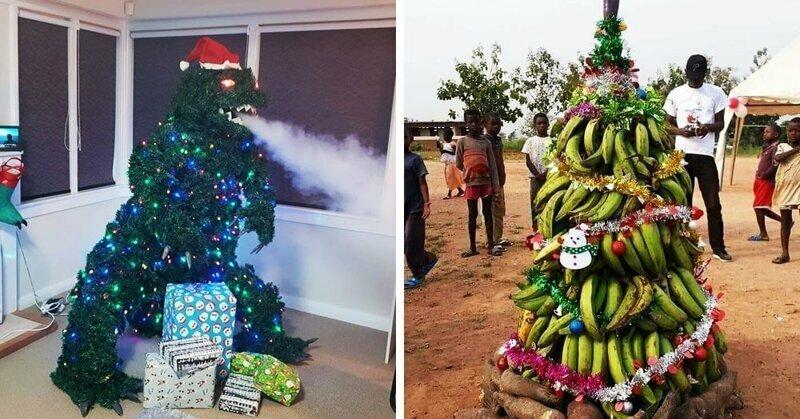 20  альтернативных новогодних елок для праздничной атмосферы