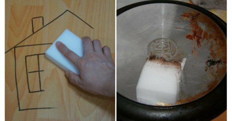 Меламиновая губка: польза в хозяйстве и правила безопасности