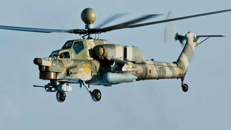 На Кубани потерпел крушение ударный вертолет Ми-28