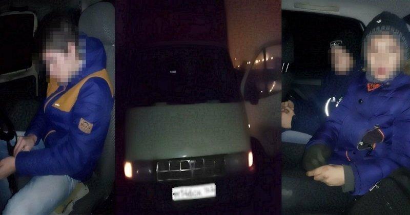 В Волгоградской области подростки-рецидивисты угнали ГАЗель, чтобы покататься