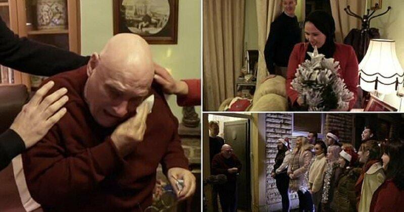 Пенсионер пожаловался в эфире на одиночество, а вечером его уже ждал трогательный сюрприз