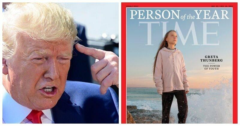 Трамп назвал нелепым признание Греты Тунберг «Человеком года»