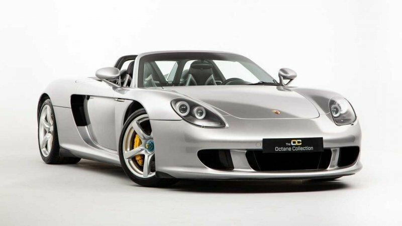 Восстановленный после серьезной аварии, Porsche Carrera GT прошел более 100 тысяч километров и теперь продается