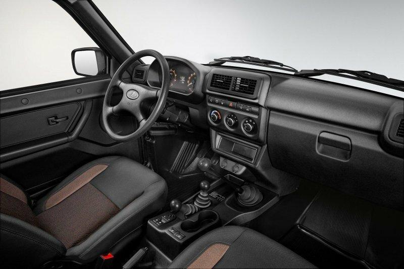В Новый Год с современным интерьером! Lada 4×4 получила обновленный салон