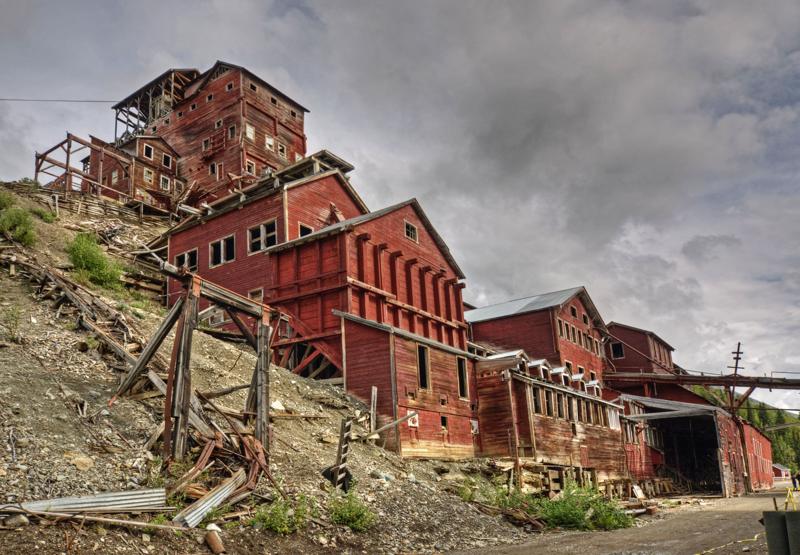 Кеннекотт на Аляске: бывший шахтерский лагерь, теперь город-призрак