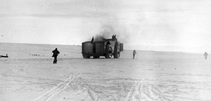 Snow Cruiser — американский вездеход для исследования Антарктиды