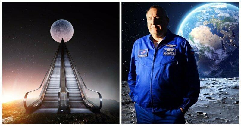 Рогозин пообещал построить универсальный «лифт» на Луну