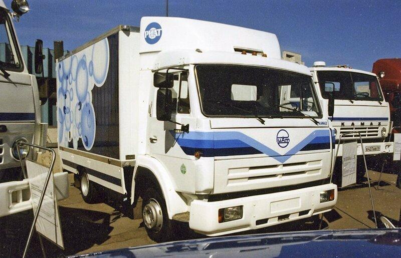 КАМАЗ-5355 — первый российский среднетоннажник, который так и не вышел в серию