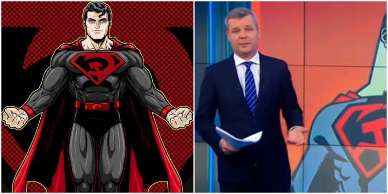 На федеральном канале назвали новый мультик «Супермен: Красный сын» русофобским